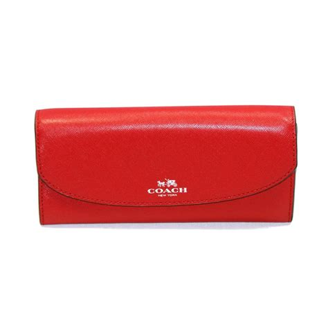 Coach Slim Wallet 1 coach darcy leather slim envelope with pouch wallet clutch 52144 coach 52144