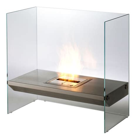 ecosmart igloo modern ventless designer fireplace