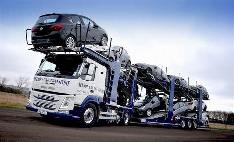 volvo transport volvo transforms car transport fleet uk haulier