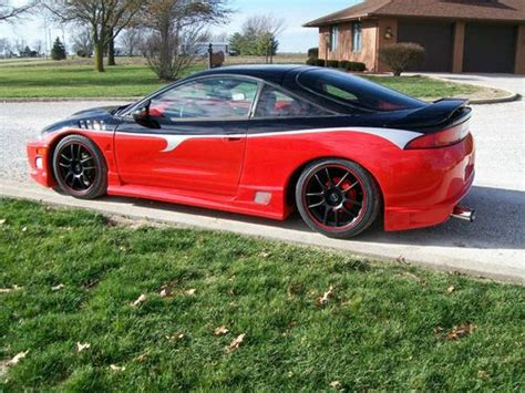 mitsubishi eclipse 1995 custom purchase used eclipse 1995 custom air ride tunner lambo
