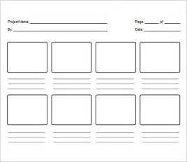 Storyboard Template Word by Storyboard Template Word Peerpex