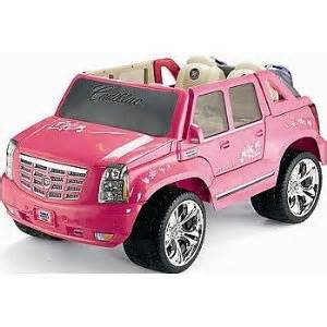 Pink Cadillac Ride On Vehicles