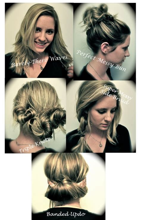 easy hairstyles for medium hair videos 5 easy hairstyles for medium long wavy curly or