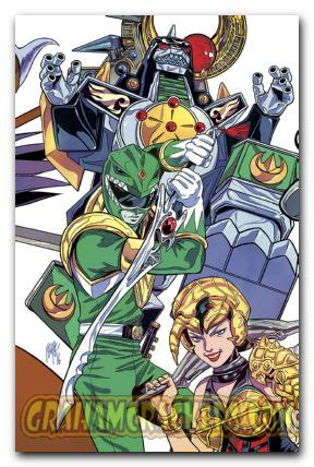 mighty morphin power rangers vol 4 product details mighty morphin power rangers 1 vol 4