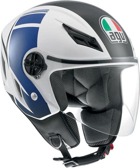 Helm Agv Sword agv blade fx open motorcycle helmet white blue