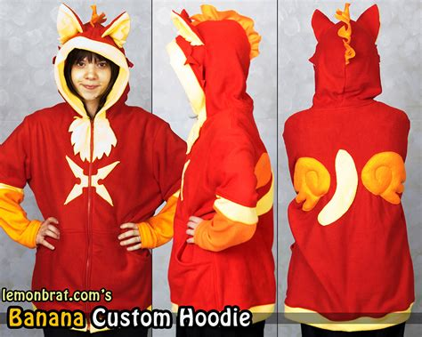 Banana Hodie banana custom hoodie weasyl