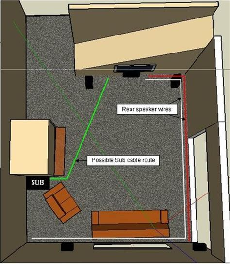 running coaxial cable along baseboard which type speaker wire to run carpet avs forum