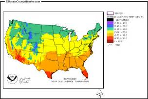 Usa Temperature Map by United States Yearly Annual Mean Daily Average Temperature
