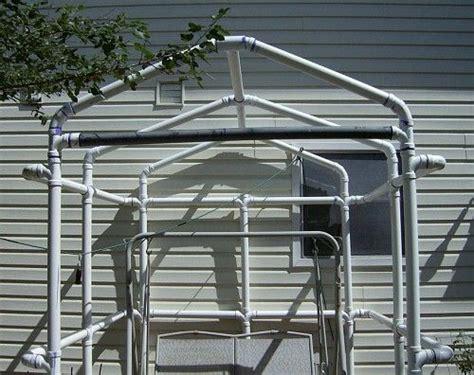 pvc gazebo pvc quot gazebo quot greenhouse frame perhaps my garden