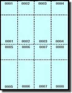 template for tickets with stubs 400 printable raffle or event tickets with numbered stub