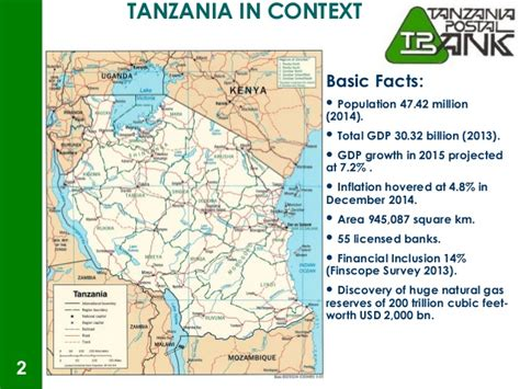 tanzania banks historical background of tanzania posts corporation