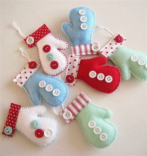 felt christmas ornaments everything 4 christmas