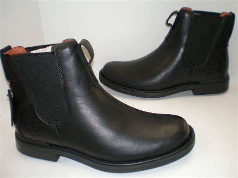 mens wide shoes and boots mens timberland mt washington chelsea 88580 wide width