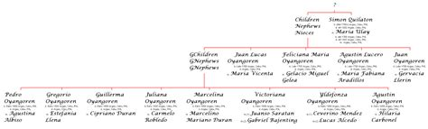 Earliest Recorded Marriage Genealogy Project Argao Families The Oyangorens