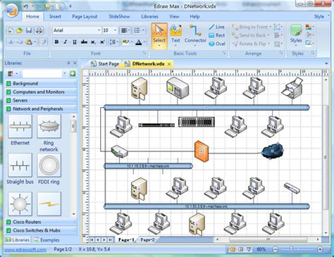 visio detailed network diagram template visio network diagram replacement software better