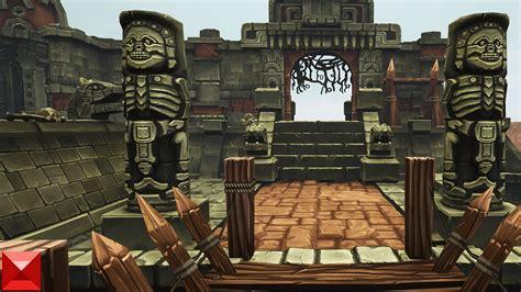 mayan temple  bitgem   architectural visualization ue marketplace