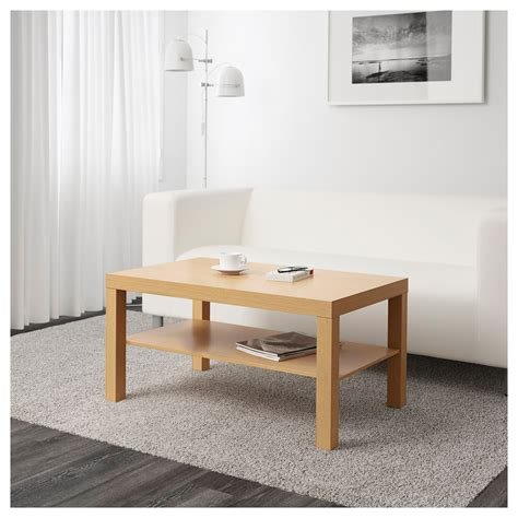 idea coffee table lack coffee table oak effect 90x55 cm ikea