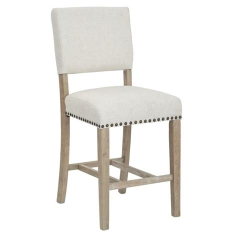 Linen Counter Stool by Counter Stool In Linen Csn24 L32