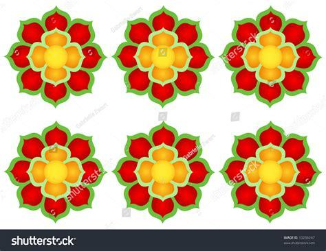 kpop pattern password korean abstract flower pattern stock photo 10236247