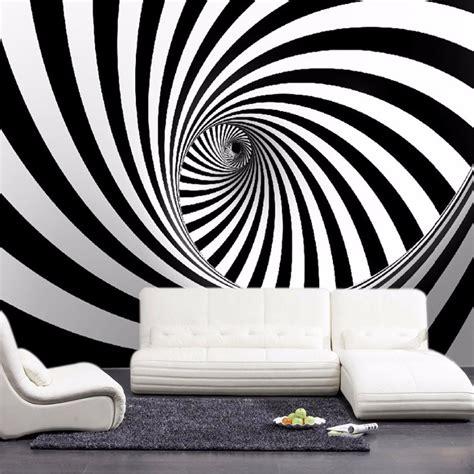 black and white mural wallpaper custom modern abstract artistic wall mural wallpaper black