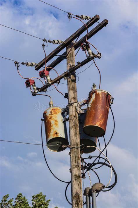 power pole stock photo image