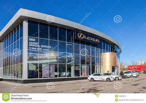 lexus dealership design building of official dealer lexus in samara russia