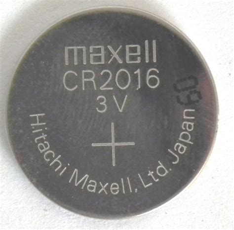 Baterai Cr2016 maxell cr2016 3v lithium coin cell pack of 1 rapid pcs