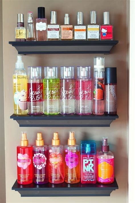 organizing your space fragrance shelves pictures photos and images for