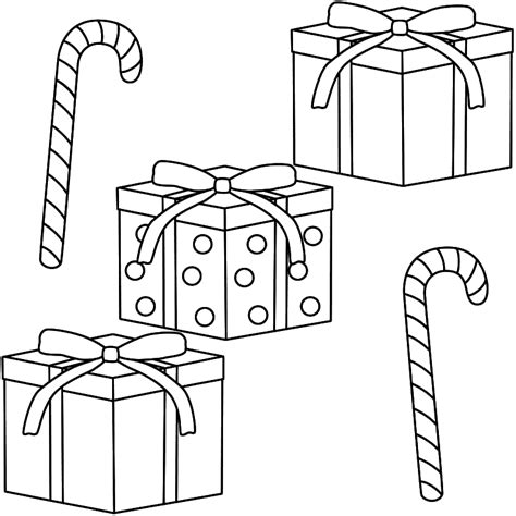 Coloring Pages Gifts Christmas Candy Coloring Pages Az Coloring Pages by Coloring Pages Gifts