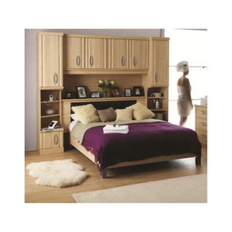 caxton bedroom furniture caxton furniture strata overbed unit with headboard