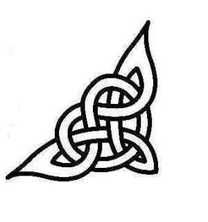 i love this its a celtic symbol for strength and courage