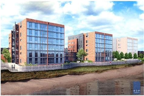 widnes luxury apartments development for over 55s given