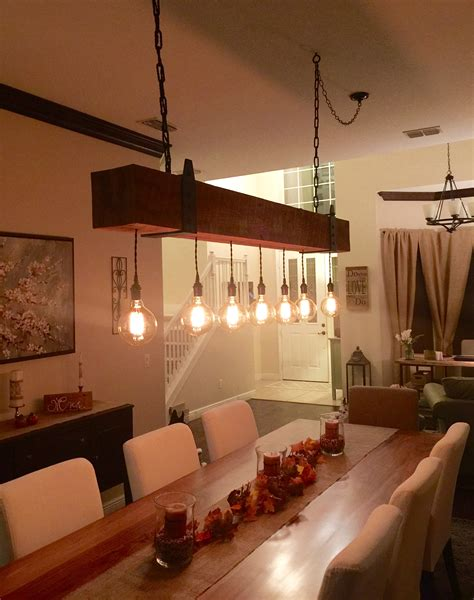 reclaimed wood chandelier reclaimed wood beam chandelier with edison globe lights