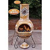 Tesco Chimenea Cast Iron Chimineas Outdoor Garden Heating Tesco