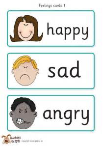 teacher s pet feelings cards free classroom display