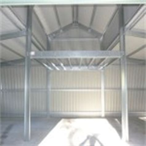 Shed Mezzanine by Mezzanine Floors Expand Your Floorspace Steel Sheds In