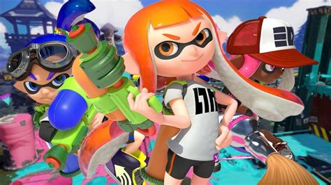vire squid coloring page splatoon 2 testando o game no nintendo switch global