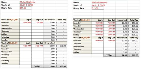 Automated Timesheet Excel Template by Need A Timesheet Template To Track Your Hours Here Are 12