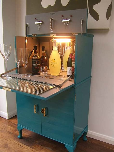 Diy Drinks Cabinet by These Diy Bar Carts Are So You Ll Want To Make One