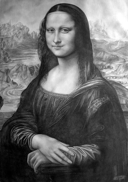 Gamis Ontel White Monalisa portrait of mona by domine on portraits