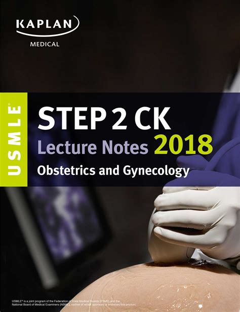 usmle step 1 lecture notes 2018 7 book set kaplan test prep usmle step 2 ck lecture notes 2018 obstetrics gynecology