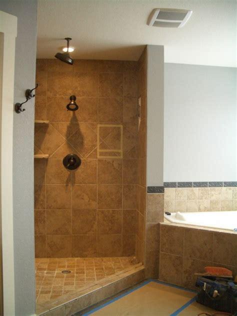 open shower designs open shower ideas awesome doorless shower creativity