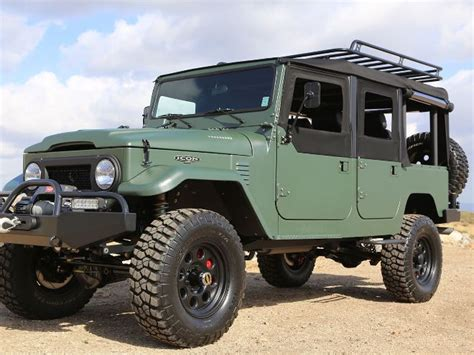 icon fj40 4 door icon toyota fj44 four door for sale only 157 000 truck