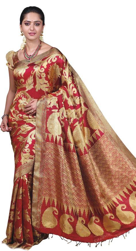 Ij If Maudy Set Maroon wedding dresses traditional silk vivah bridal saree 2012