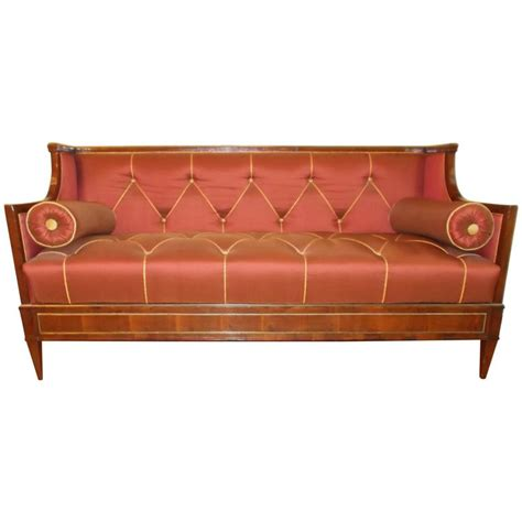 empire sofa for sale early 19th century yew wood baltic empire sofa for sale at