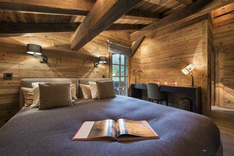 deco chambre style chalet d 233 co chalet montagne 99 id 233 es pour la chambre 224 coucher