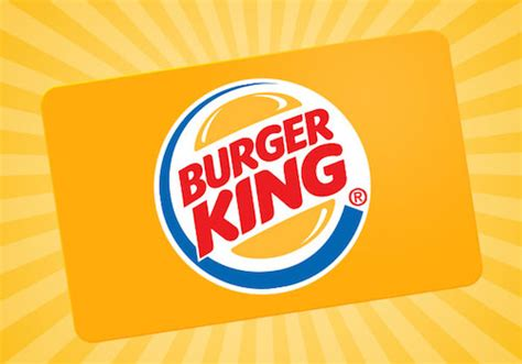 Burger King Gift Card Free - 1oo oo burger king gift card blissxo com
