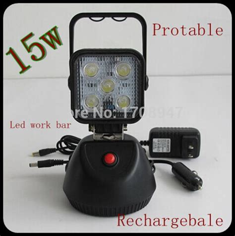 rechargeable led work light with magnetic base special wholesale 15w portable led work light with