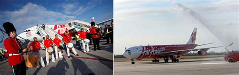 airasia london new routes launched during the last week saturday 7 march