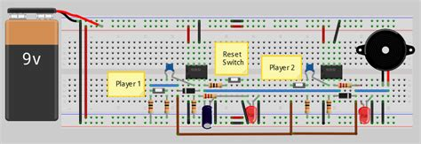 quiz buzzer circuit diagram